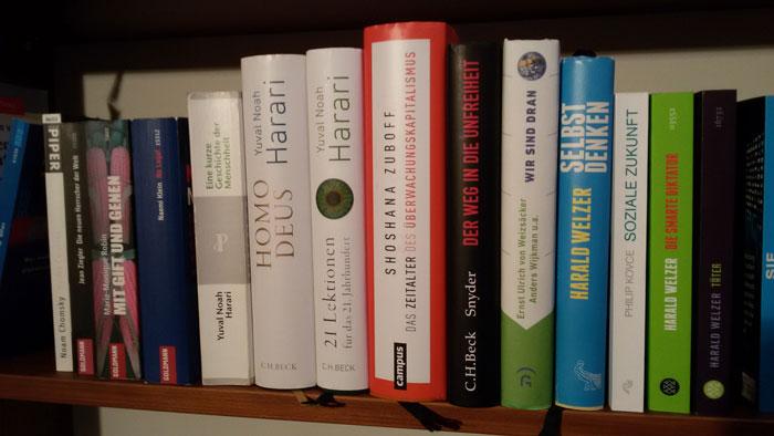 Die Welt besser verstehen – Harari, Zuboff, Snyder - zum Lesen empfohlen